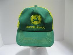 Vintage K-Products Trucker Hat John Deere Farming Snapback Y