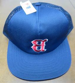 **Vintage** MLB Boston Red Sox Trucker Mesh Snapback Hat By