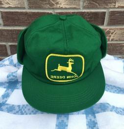 37402defe2bf7 Editorial Pick Vintage Rare K-Brand John Deere Patch Winter Trucker Hat Cap