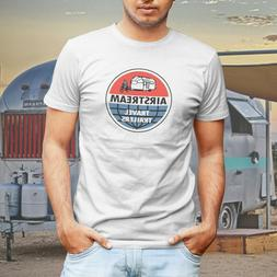 Vintage Airstream Travel Trailers Retro Mens T-Shirt or Truc