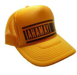 vintage yamaha motocross hat 80 s trucker