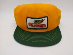 Vtg 70s 80s Dekalb Corn Seed Patch Mesh Trucker Hat Snapback