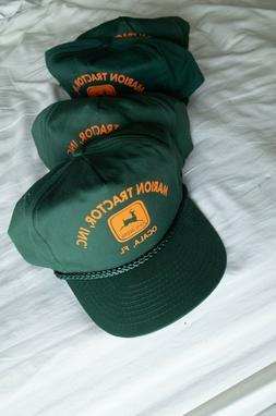 VTG NOS John Deere Tractor Cobra Trucker Hat Snapback Cap Oc