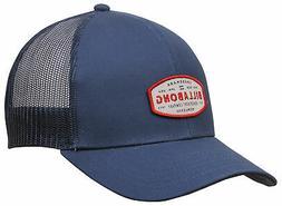 walled trucker hat blue new