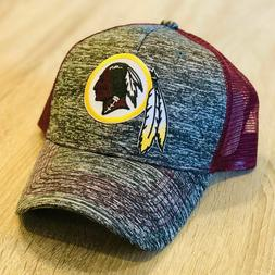 Washington Redskins Trucker Hat Patch Style 2 Tone Mesh Cap