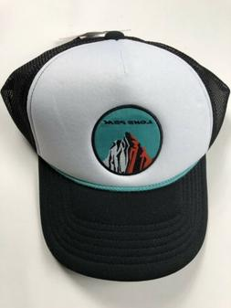 Altra Running White Green Lone Peak Mountain Trucker Hat Mes