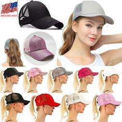 White Red Snapback Caps Trucker Hats Womens Girls Curved Vis