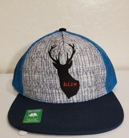PRANA Wild Buck Adjustable Snapback Baseball Hat Trucker Cap