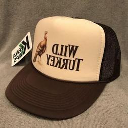 Wild Turkey Whiskey Trucker Hat Vintage 80's Snapback Cap