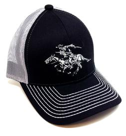 WINCHESTER ARMS HORSE & RIDER LOGO CURVED BILL MESH TRUCKER