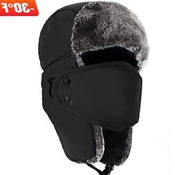 Mysuntown Unisex Winter Trooper Hat Hunting Hat Ushanka Ear