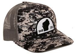 Wisconsin Trucker Hat Richardson 112P Snapback Fishing hat