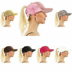 Sky Blue Snapback Caps Trucker Hats Womens Girls Curved Viso