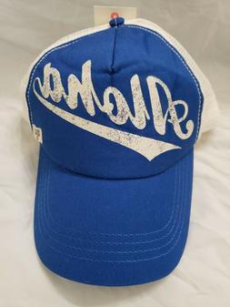 BILLABONG Women's Aloha Forever Trucker Hat Blue White Popsu