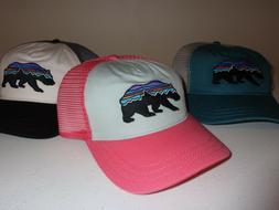 PATAGONIA Women's Fitz Roy Bear Layback Trucker Hat - 38209