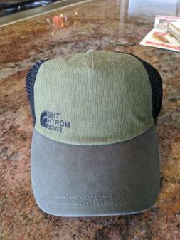 The North Face Women's Low Pro Trucker Green Black Hat cap P