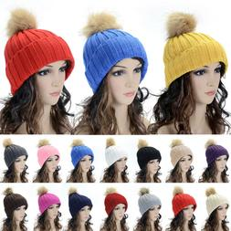 Women's Novelty Winter Warm Braided Crochet Knit Hat Beret S