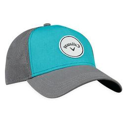 Callaway Women's Trucker Snapback Golf Hat Teal