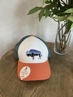 Patagonia Womens Trucker Hat Cap Pastel P-6 Label Layback Lo
