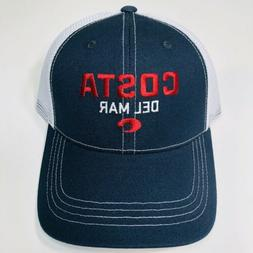 COSTA DEL MAR WORDMARK  XL STRUCTURED TRUCKER CAP HAT BRAND