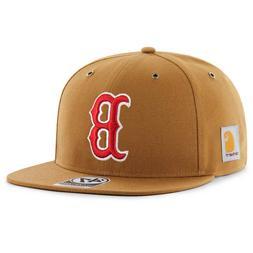 x carhartt boston red sox captain adjustable