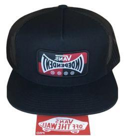 VANS x INDEPENDENT Trucker Hat *NEW Indy Trucks BLACK SNAPBA