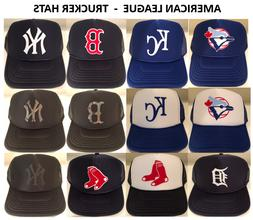Yankees, Red Sox, Royals, Tigers, Blue Jays Foam Poly Mesh T
