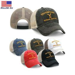 Yellowstone Dutton Ranch | Trucker Hat Embroidered Dad Hat |