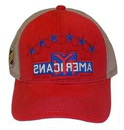 CCM York Americans NHL Trucker Mesh Snapback Hat Cap OSFA