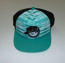 neff youth kenni trucker hat teal mint