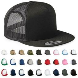 Yupoong® Classic Trucker Mesh Hat - Blank 5 Panel FLEX FIT